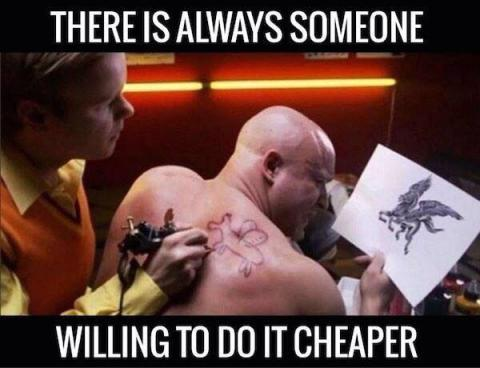 Many can do it cheaper but no one better